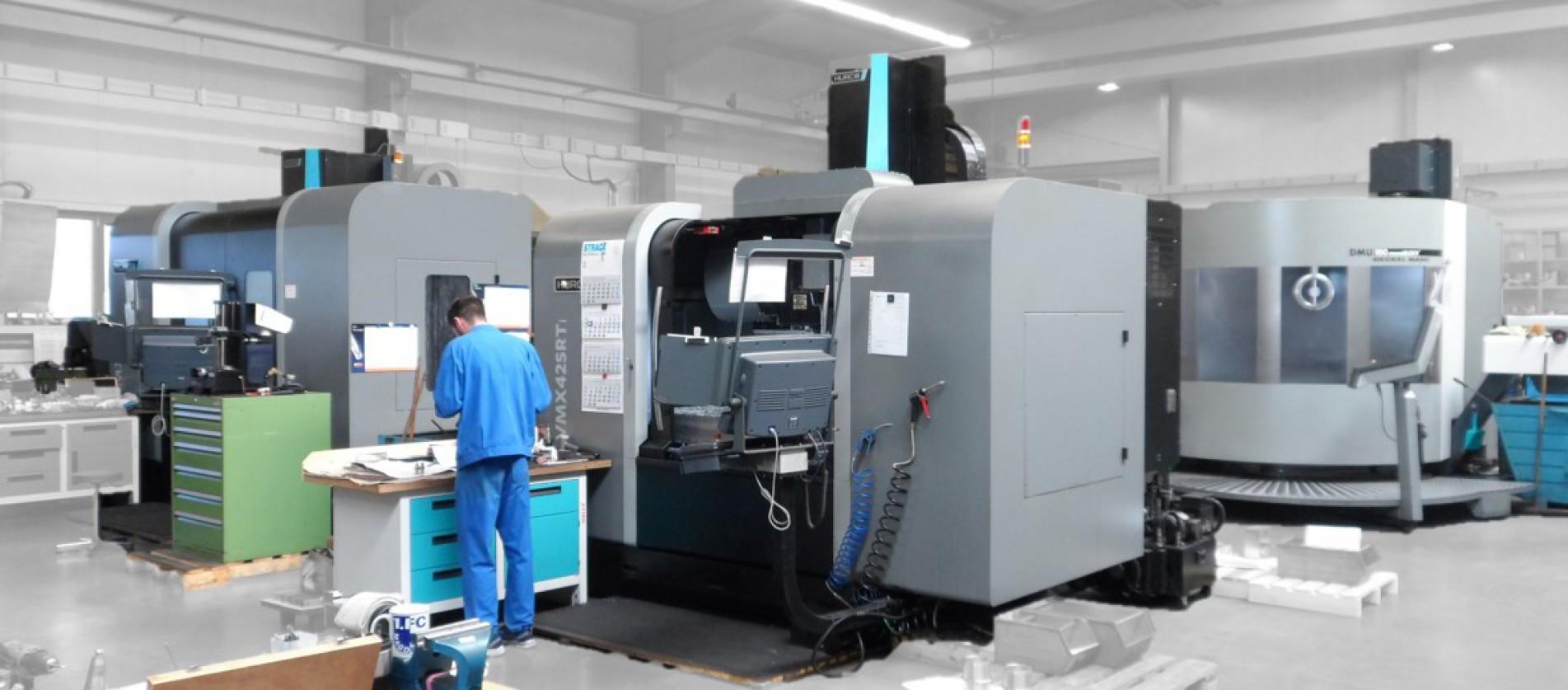 5-Achs CNC Maschinenpark